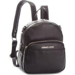 Plecak VERSACE JEANS - E1VSBBB7 70709 899. Czarne plecaki damskie Versace Jeans, z jeansu. Za 699.00 zł.