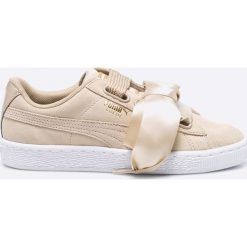 Puma - Buty Suede Heart Safari Wn's. Szare obuwie sportowe damskie Puma, z gumy. W wyprzedaży za 239.90 zł.