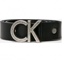 Calvin Klein Jeans - Pasek. Czarne paski damskie Calvin Klein Jeans, w paski, z jeansu. Za 219.90 zł.