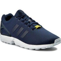 Buty adidas - Zx Flux M19841 Darkblue/Darkblue/Co. Niebieskie obuwie sportowe damskie Adidas, z materiału. W wyprzedaży za 309.00 zł.