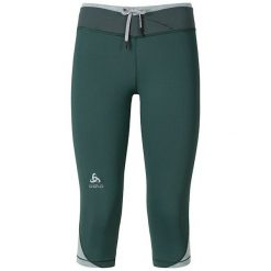 Odlo Spodnie Odlo Tights 3/4 HANA zielone r. XL. Spodnie dresowe damskie Odlo. Za 158.85 zł.
