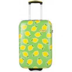Reabags Walizka B.Hppy S. Lemon, Zielona. Walizki męskie Reabags, w kolorowe wzory. Za 364.00 zł.