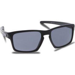 Okulary przeciwsłoneczne OAKLEY - Sliver OO9262-01 Polished Black/Black Iridium. Czarne okulary przeciwsłoneczne męskie Oakley, z tworzywa sztucznego. W wyprzedaży za 419.00 zł.