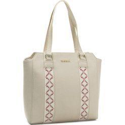 Torebka MONNARI - BAG4920-000 White. Białe torebki do ręki damskie Monnari, z materiału. W wyprzedaży za 129.00 zł.