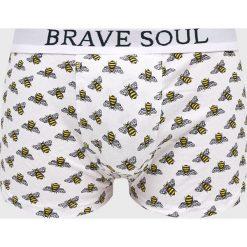 Brave Soul - Bokserki (3-pack). Szare bokserki męskie Brave Soul, z bawełny. W wyprzedaży za 59.90 zł.