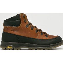 Grisport - Buty. Brązowe trekkingi męskie Grisport, na zimę, z gumy. W wyprzedaży za 379.90 zł.