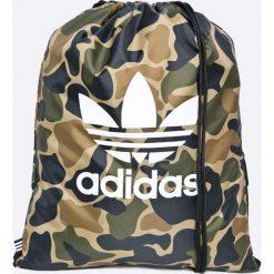 Adidas Originals - Plecak. Szare plecaki damskie adidas Originals, z poliesteru. W wyprzedaży za 69.90 zł.
