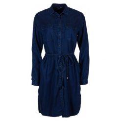 Pepe Jeans Sukienka Damska Monica L Ciemny Niebieski. Niebieskie sukienki damskie Pepe Jeans, na lato, z jeansu, eleganckie. W wyprzedaży za 419.00 zł.