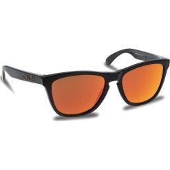 Okulary przeciwsłoneczne OAKLEY - Frogskins OO9013-C955 Black Ink/Prizm Ruby. Brązowe okulary przeciwsłoneczne damskie Oakley. W wyprzedaży za 419.00 zł.