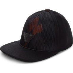 Czapka z daszkiem EMPORIO ARMANI - 627503 8A553 00020 Nero. Czarne czapki i kapelusze męskie Emporio Armani. Za 369.00 zł.