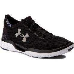 Buty UNDER ARMOUR - Ua Charged Coolswitch Run 1285485-001 Blk/Wht/Wht. Czarne obuwie sportowe damskie Under Armour, z gumy. W wyprzedaży za 289.00 zł.