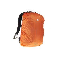 Pokrowiec przeciwdeszczowy na plecaki 20-35 litrów. Brązowe plecaki damskie FORCLAZ, z materiału. Za 29.99 zł.