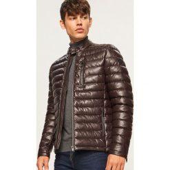 3e298ae5e757d Pikowana kurtka ze stójką - Brązowy. Kurtki damskie marki Reserved. W  wyprzedaży za 149.99