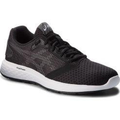 Buty ASICS - Patriot 10 1012A117  Black/White 002. Czarne obuwie sportowe damskie Asics, z materiału. W wyprzedaży za 189.00 zł.