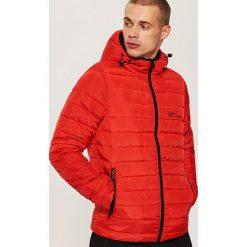 Pikowana kurtka z kapturem - Czerwony. Czerwone kurtki męskie House. Za 149.99 zł.