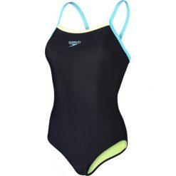 Speedo Strój Kąpielowy Placement Thinstrap Muscleback. Czarne kostiumy jednoczęściowe damskie Speedo. W wyprzedaży za 90.00 zł.