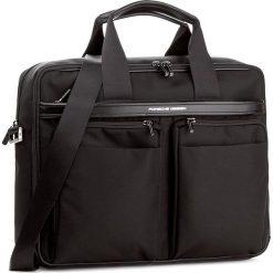 Torba na laptopa PORSCHE DESIGN - Lane 4090002571  Black 900. Czarne torby na laptopa damskie Porsche Design, z materiału. W wyprzedaży za 1,439.00 zł.