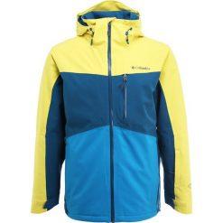 Columbia WILD CARD Kurtka narciarska acid yellow/phoenix blue. Kurtki sportowe męskie Columbia, z materiału. W wyprzedaży za 1,034.10 zł.