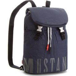 Plecak MUSTANG - El Paso 4100000027 Dark Blue 402. Niebieskie plecaki damskie Mustang, z materiału, sportowe. W wyprzedaży za 209.00 zł.