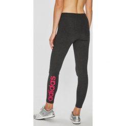 Adidas Performance - Legginsy. Szare legginsy damskie adidas Performance, z bawełny. Za 119.90 zł.