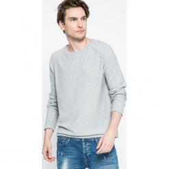 Broadway - Sweter. Szare swetry przez głowę męskie Broadway, z bawełny, z okrągłym kołnierzem. W wyprzedaży za 59.90 zł.