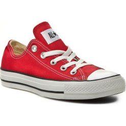 Trampki CONVERSE - All Star Ox M9696C Red. Czerwone trampki męskie Converse, z gumy. W wyprzedaży za 219.00 zł.