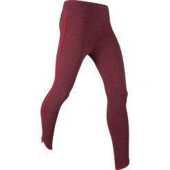 Legginsy sportowe ze stretchem, dł. 7/8, Level 1 bonprix czerwony klonowy melanż. Legginsy damskie marki DOMYOS. Za 27.99 zł.