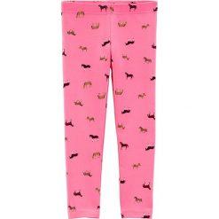 Legginsy w kolorze różowym. Legginsy dla dziewczynek marki OROKS. W wyprzedaży za 25.95 zł.