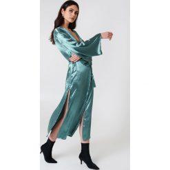 Glamorous Szlafrok z długim rękawem - Green,Blue. Szlafroki damskie marki NABAIJI. W wyprzedaży za 60.89 zł.