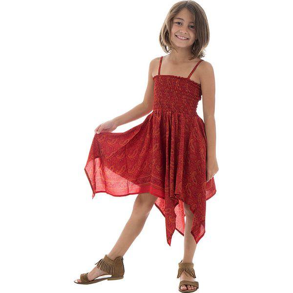 a51e069575ae9f Sukienka w kolorze czerwonym - Sukienki dla dziewczynek Aller ...