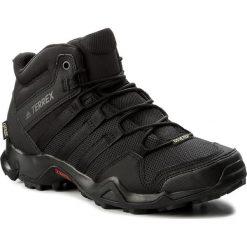 Buty adidas - Terrex Ax2r Mid Gtx GORE-TEX CM7697 Cblack/Cblack/Cblack. Czarne trekkingi męskie Adidas, z gore-texu. W wyprzedaży za 379.00 zł.