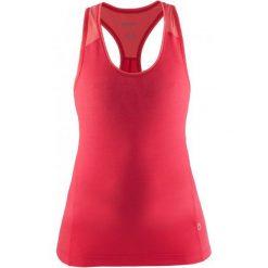 Craft Koszulka Habit Pink Xs. Różowe koszulki sportowe damskie Craft, z materiału, bez rękawów. W wyprzedaży za 75.00 zł.