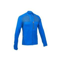 Kurtka polarowa FH500 męska. Niebieskie kurtki męskie QUECHUA, z polaru. Za 129.99 zł.