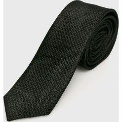S. Oliver - Krawat. Czarne krawaty i muchy s.Oliver BLACK LABEL, z jedwabiu. W wyprzedaży za 99.90 zł.