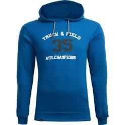Bluza męska BLM602 - niebieski - Outhorn. Niebieskie bluzy męskie Outhorn. W wyprzedaży za 99.99 zł.