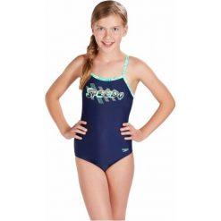 Speedo Strój Placement Thinstrap Muscleback Junior Navy/Jade/Green Glow 28. Stroje kąpielowe dla dziewczynek marki bonprix. W wyprzedaży za 89.00 zł.