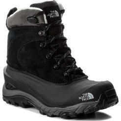 Śniegowce THE NORTH FACE - Chilkat III T939V6WE3 Tnf Black/Dark Gull Grey. Czarne śniegowce i trapery męskie The North Face, z gumy. Za 449.00 zł.