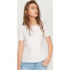 Koszulka z bawełny organicznej - Biały. T-shirty damskie marki DOMYOS. W wyprzedaży za 14.99 zł.