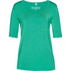T-shirt z modalu bonprix szmaragdowy. T-shirty damskie marki DOMYOS. Za 37.99 zł.