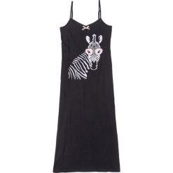 Koszula nocna na cienkich ramiączkach bonprix czarny z nadrukiem. Koszule nocne damskie marki MAKE ME BIO. Za 34.99 zł.