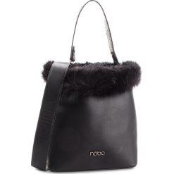 Torebka NOBO - NBAG-F1520-C020  Czarny. Czarne torebki do ręki damskie Nobo, z materiału. W wyprzedaży za 179.00 zł.