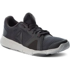 Buty Reebok - Flexile CN1027 Coal/Blk/Skull Grey/Alloy. Czarne obuwie sportowe damskie Reebok, z materiału. W wyprzedaży za 189.00 zł.