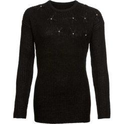 Sweter z kwiatowym haftem bonprix czarny. Swetry damskie marki KALENJI. Za 79.99 zł.