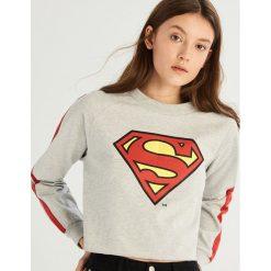 Bluza Superman - Jasny szar. Bluzy damskie marki Sinsay. Za 59.99 zł.