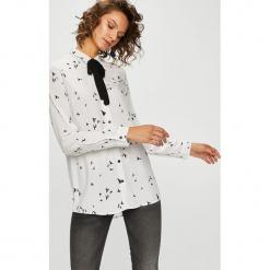 Medicine - Koszula Basic. Szare koszule damskie MEDICINE, z tkaniny, casualowe, z klasycznym kołnierzykiem, z długim rękawem. W wyprzedaży za 55.90 zł.
