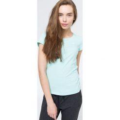 T-shirt damski TSD002 - mięta. Szare t-shirty damskie 4f, z bawełny. W wyprzedaży za 39.99 zł.