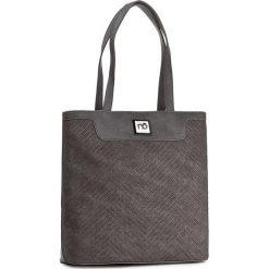 Torebka NOBO - NBAG-D1820-C019 Szary. Szare torebki do ręki damskie Nobo, ze skóry ekologicznej. W wyprzedaży za 139.00 zł.