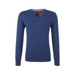 S.Oliver Sweter Męski Xxxl Niebieski. Niebieskie swetry przez głowę męskie S.Oliver, z bawełny. W wyprzedaży za 109.00 zł.