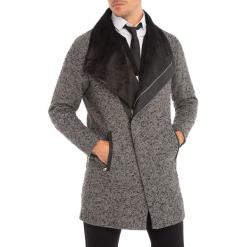 Płaszcz w kolorze szarym. Szare płaszcze męskie RNT23. W wyprzedaży za 354.95 zł.