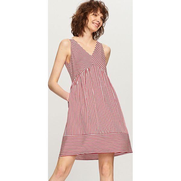 808a4641e4 Sukienka w paski - Czerwony - Sukienki damskie marki Reserved